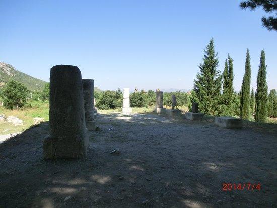 Ancient City of Ephesus: Old milestones