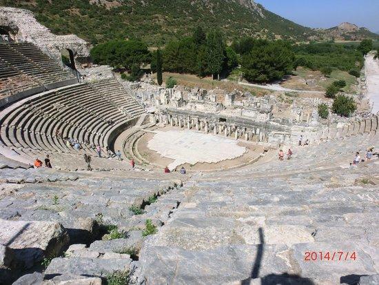 Ancient City of Ephesus: Amphie theatre again
