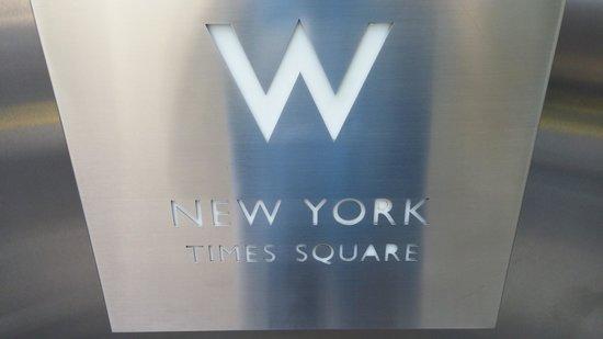W New York - Times Square: W Hotel Logo