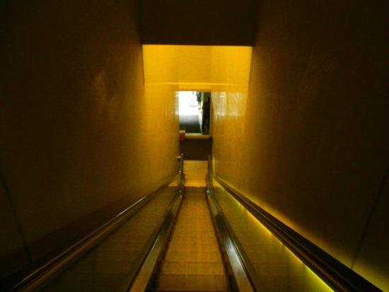 Hudson Hotel New York : escalator pas très joyeux