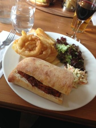 The Gladstone Arms: Pulled pork panini
