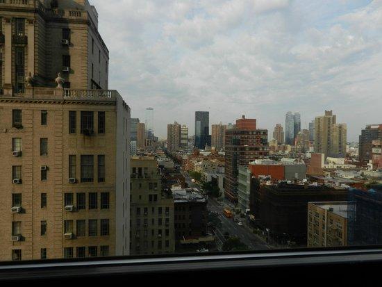Hudson Hotel New York : vue de la chambre 1255..le bruit en moins