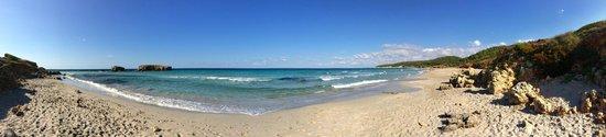 Playa De Binigaus : panorama spiaggia