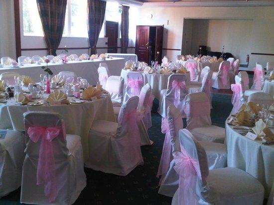 Best Western Stafford M6/J14 Tillington Hall Hotel: Wedding in our Royal Suite