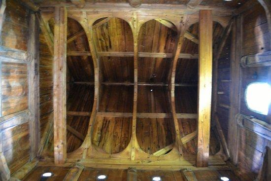 Borgund Stave Church: soffitto