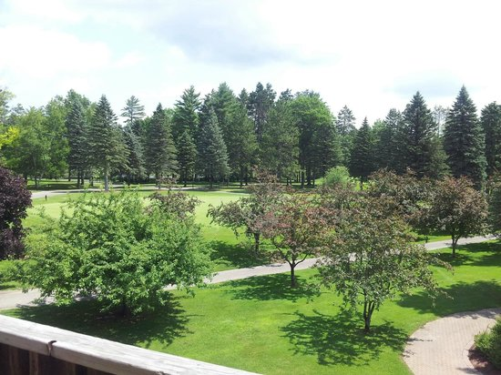 Garland Lodge & Resort: View from room's balcony