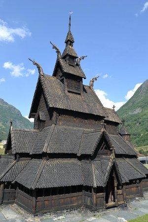 Borgund Stave Church: facciata