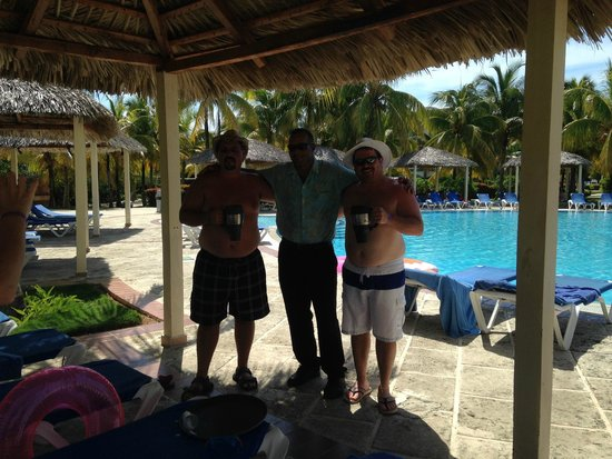 Iberostar Mojito: Alexander.....best pool waiter ever!