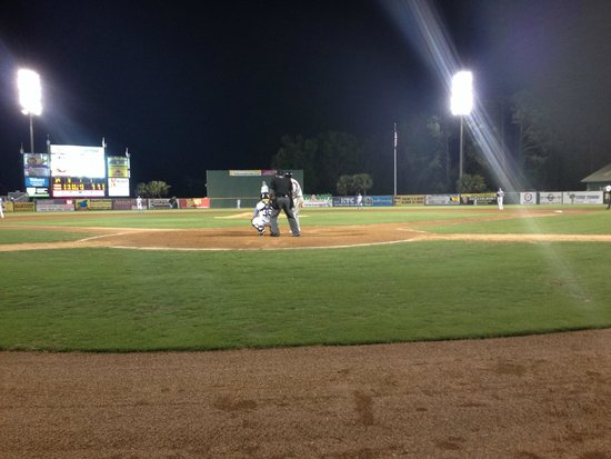 Myrtle Beach Pelicans The Field Is Well Lit