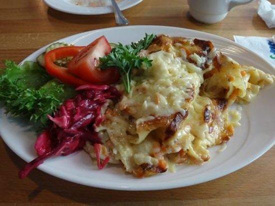 Kahvila-Suomi : 野菜ラザニア