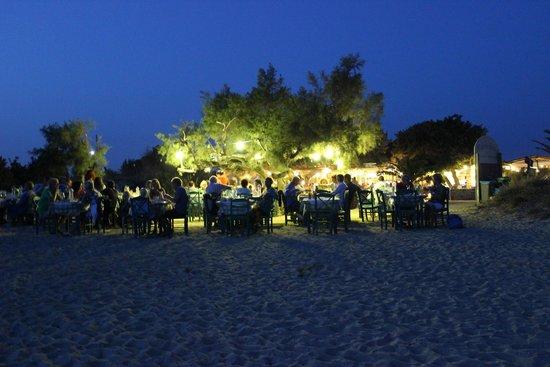 Taverna Paradiso: Dopo il tramonto