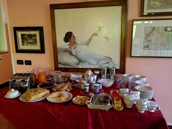 Rastignano, Italia: tasty breakfast