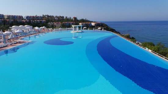 Paloma Club Sultan Ozdere: Vue de la pisine panoramique