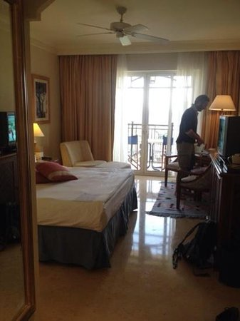 Movenpick Resort & Residences Aqaba : chambre superieure vue mer