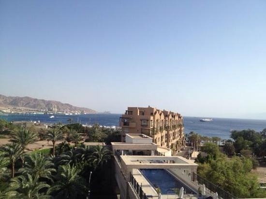 Movenpick Resort & Residences Aqaba : vue du balcon