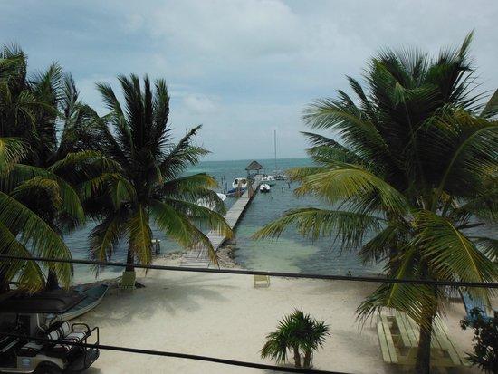 Costa Maya Beach Cabanas: View from our balcony - cabana 5