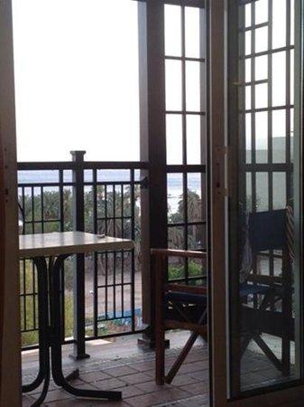 Movenpick Resort & Residences Aqaba : balcon et vue