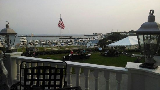 1852 Grill Room: View from restaurant