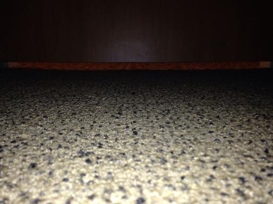 Millennium Cincinnati: another view of the gap below the door