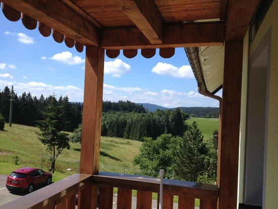 Cafe -Pension Feldbergblick : Blick vom Balkon