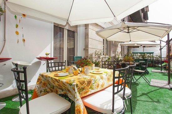 B&B Ai Girasoli : terrazzo