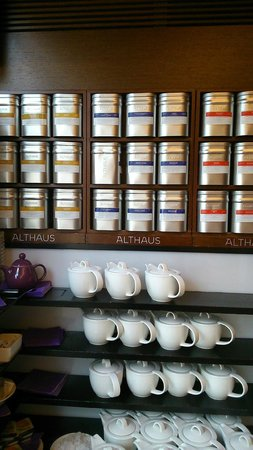 Park Inn by Radisson Berlin Alexanderplatz: Tea selection at breakfast!