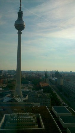 Park Inn by Radisson Berlin Alexanderplatz: Phenomenal view!