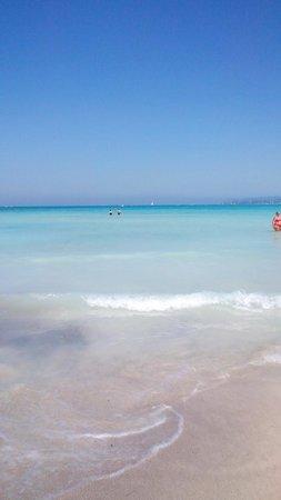 Hotel Villa dei Gerani: Famose spiagge bianche