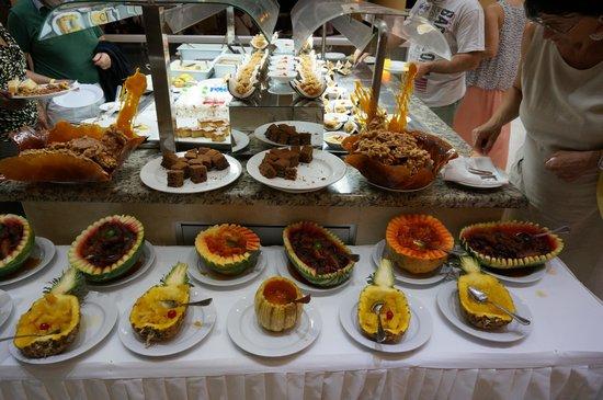 Viva Wyndham Dominicus Beach: Owoce