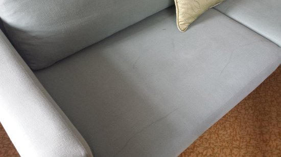 Bristol Marriott Royal Hotel: Dirty Sofa