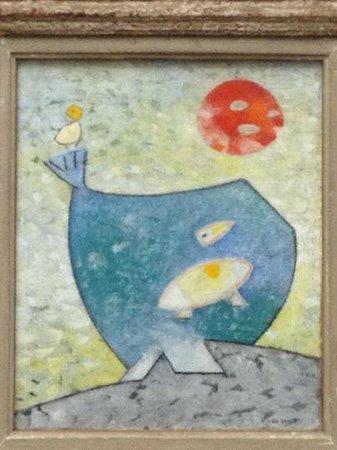 Kunsthalle Mannheim: Mutter und Kind auf dem Erdball  1953 - Max Ernst