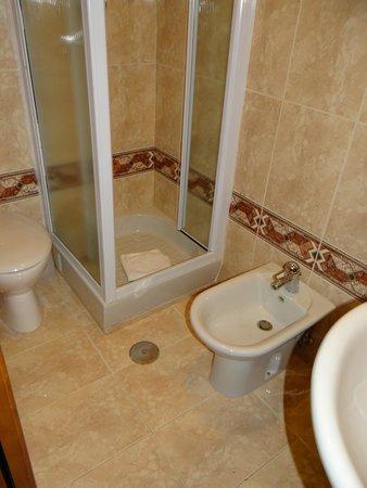 Hotel Virgilio : El baño era lo unico que zafaba