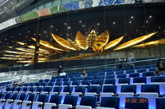 Meydan Racecourse: interno dell'ippodromo