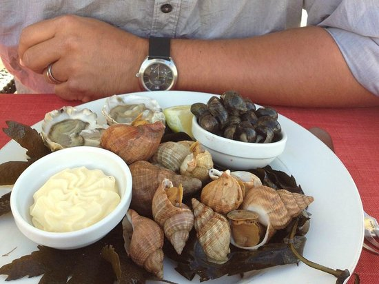 Le Clos Normand: Starter - seafood