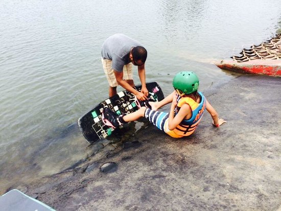Nitro City Panama Action Sports Resort: Wakeboarding