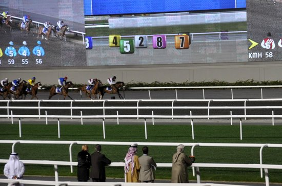 Meydan Racecourse: una corsa