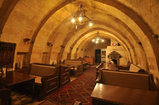 Cappadocia Palace: dining hall