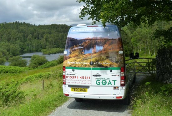 Mountain Goat Tours: Mountain Goat vehicle at Tarn Hows