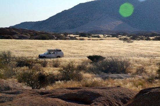 Spitzkoppe Campsites: Uitzicht