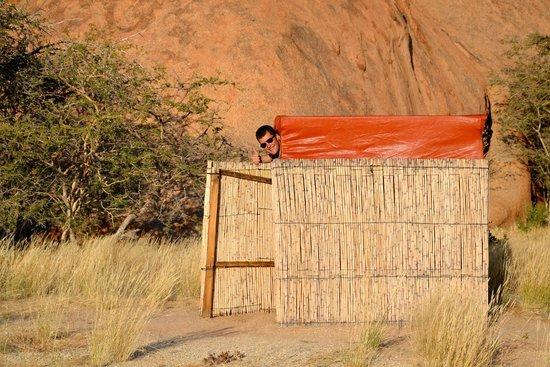 Spitzkoppe Campsites: Toilet