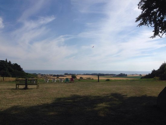 Busene, Denmark: View from the B&B