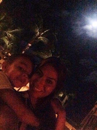 Ferraro's Bar e Ristorante: Dinner under the moon!!!