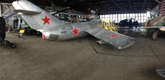 Naval Air Station Wildwood Aviation Museum: Soviet era MiG-15