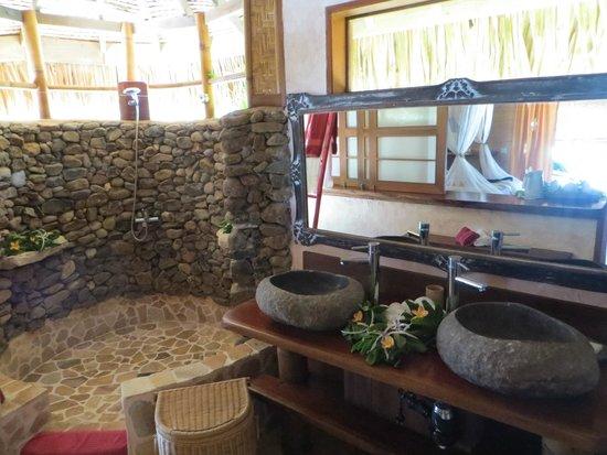 Green lodge: Salle de bain