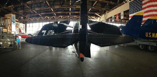 Naval Air Station Wildwood Aviation Museum: Avenger torpedo bomber