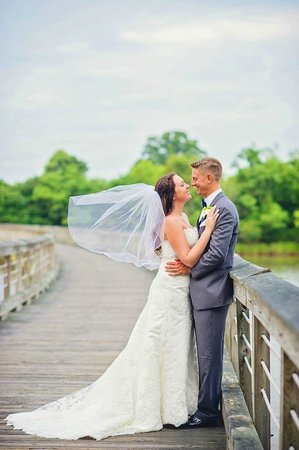 Hyatt Regency Chesapeake Bay Golf Resort, Spa & Marina : Taken on the curved bridge over the 17th hole