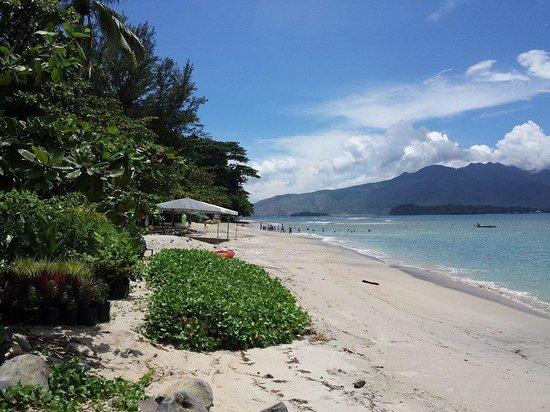 Camayan Beach Resort and Hotel: camayan beach front