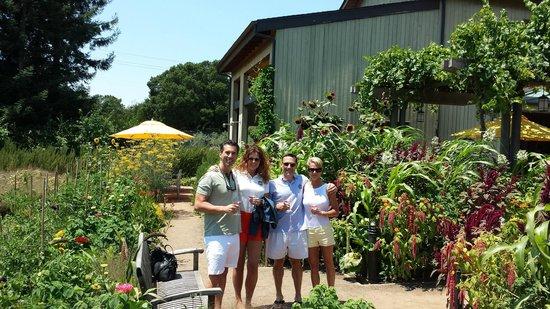Lynmar Estate Winery : In the gardens