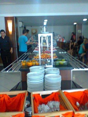 Canasvieiras Hotel: o cafe