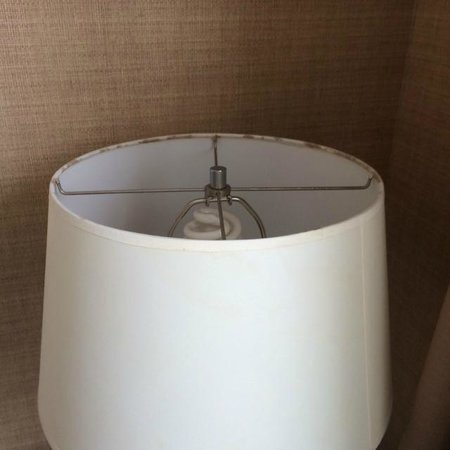 Berkeley Oceanfront Hotel : One of two moldy lampshades
